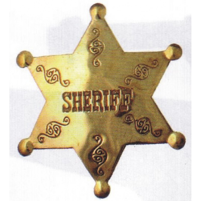 sheriffská hvězda SHERIFF