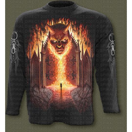 tričko s dlouhým rukávem s motivem Gates Of Hell