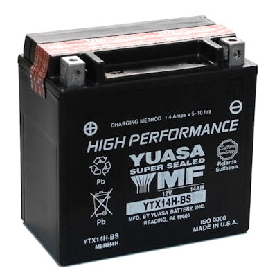 baterie bezúdržbová YTX14H-BS, 12V, 12Ah
