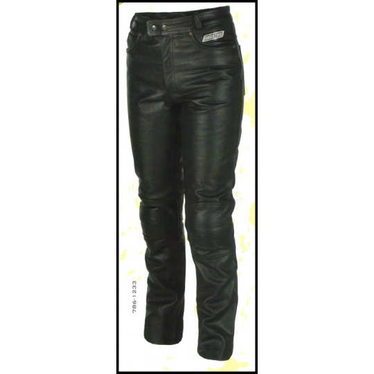 kalhoty 786-1233 Jeans CE kožené na chopper