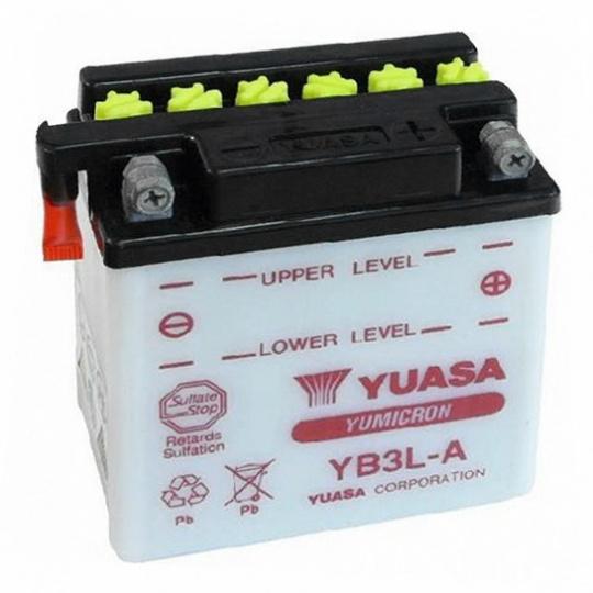 baterie údržbová YB3L-A, 12V, 3Ah