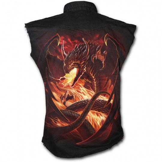 košile s motivem Dragons Wrath