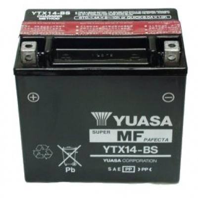 baterie bezúdržbová YTX14-BS, 12V, 12Ah
