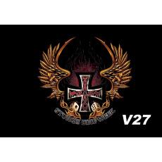 Vlaječka V27 kříž