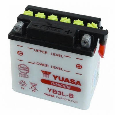 baterie údržbová YB3L-B, 12V, 3Ah