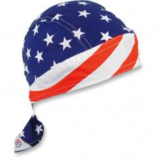 šátek na hlavu (čepička) Stars and Stripes