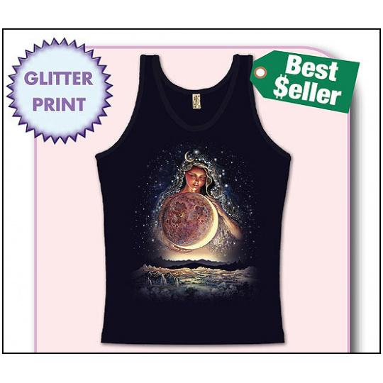 tričko s motivem Moon Goddess