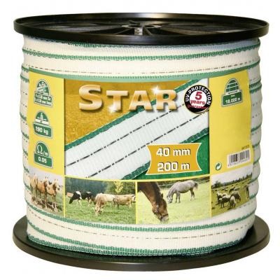 Páska pro elektrický ohradník Star