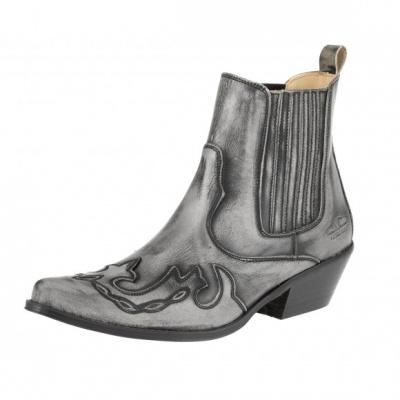 """boty kotníkové """"koně"""" K096"""