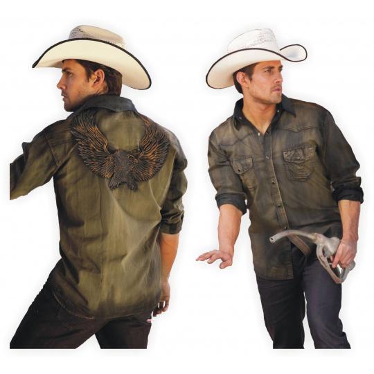 westernová košile DAVE