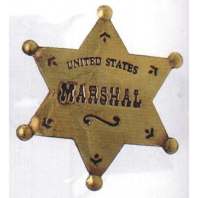 sheriffská hvězda US MARSHAL