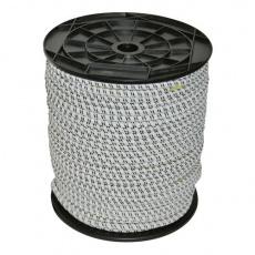 Vodivé gumové lano pro vchody el. ohrad ap. 50m