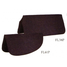 westernová podsedlová deka Premium High Destiny Wool Liners