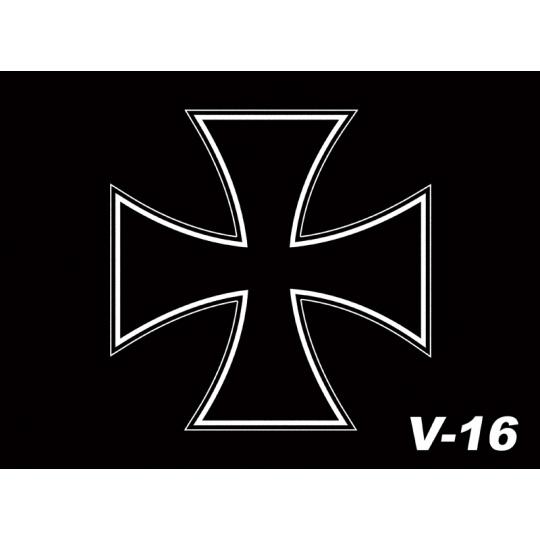 Vlaječka V16 kříž