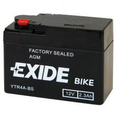 baterie bezúdržbová YTR4A-BS, 12V, 2,3Ah
