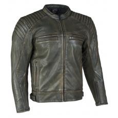 kožená moto bunda Peet