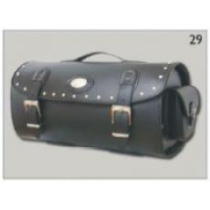 Kufr na nosič za opěrku spolujezdce kožený Válec 29