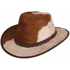 kožený klobouk Rustler