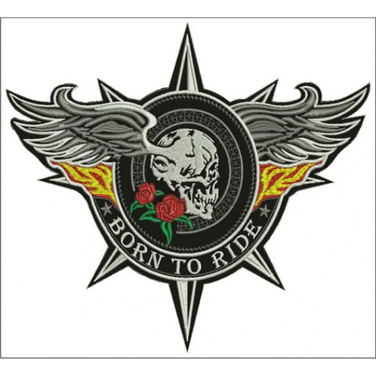 nášivka Born To Ride
