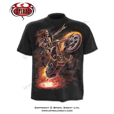dětské tričko s motivem Hell Rider