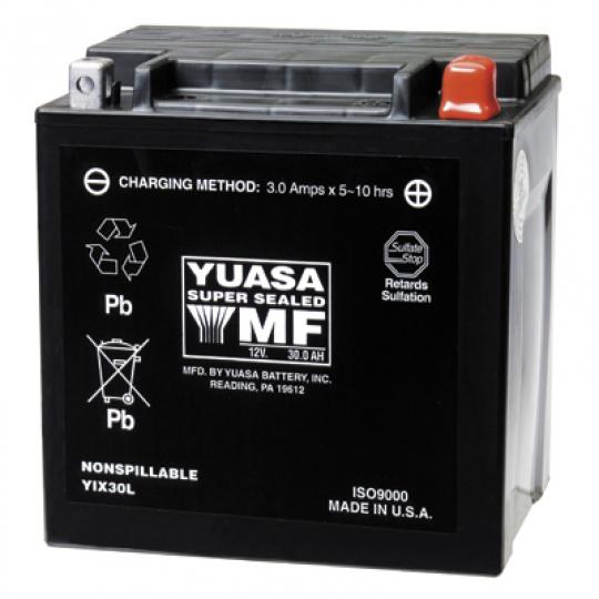 baterie bezúdržbová YIX30L, 12V, 30Ah