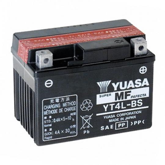 baterie bezúdržbová YT4L-BS, 12V, 3Ah