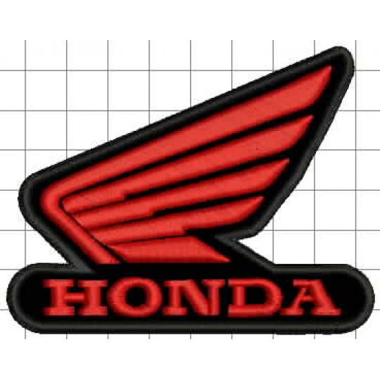 nášivka Honda křídla