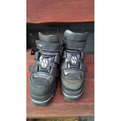 kožené boty New Rock
