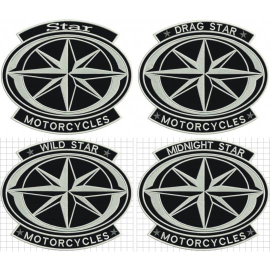 nášivka Star motorcycles