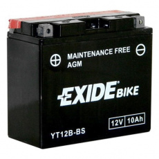 baterie bezúdržbová YT12B-BS, 12V, 10Ah