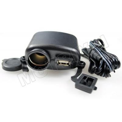 12V zásuvka + USB zásuvka