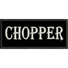 nášivka chopper