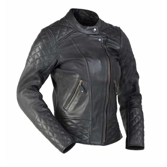 dámská kožená moto bunda Betty