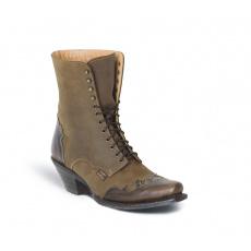 dámské šněrovací westernové boty WBL-31