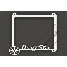 rámeček na SPZ DragStar