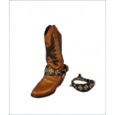 Ozdobné řemínky na boty B1 maltézáky velké