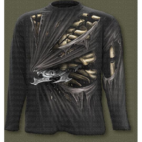 tričko s dlouhým rukávem s motivem Bone Slasher