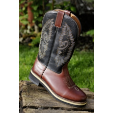 Western Boots -Softy cow