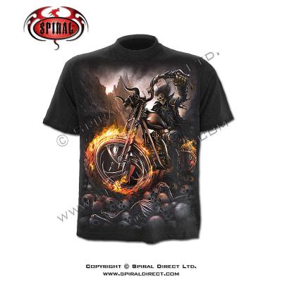 tričko s motivem Wheels of fire