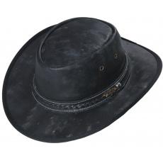 kožený westernový klobouk WYLIE