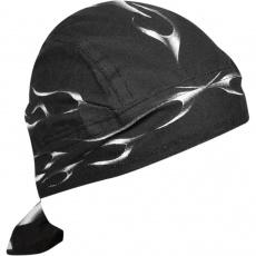 šátek na hlavu (čepička) plameny