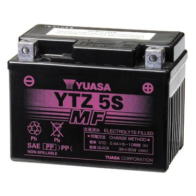 baterie bezúdržbová YTZ5S, 12V, 3,5Ah
