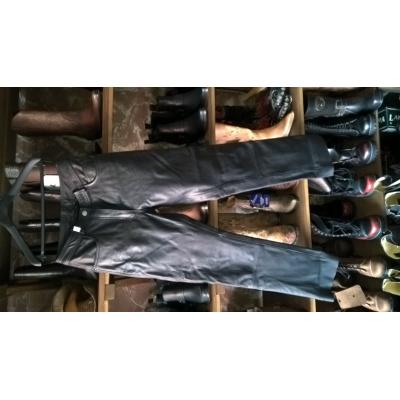 kožené kalhoty Highway - použité