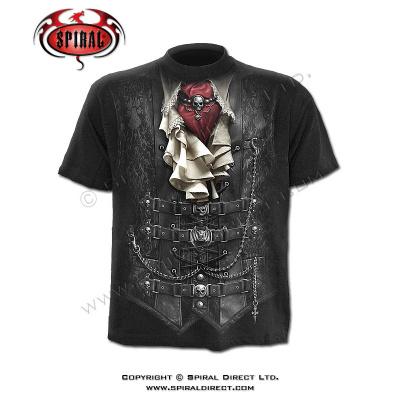 tričko s motivem Waisted