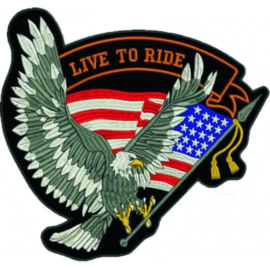 nášivka orel Live to ride