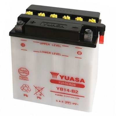 baterie údržbová YB14-B2, 12V, 14Ah