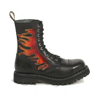 boty Steel 10 dírkové