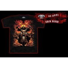 tričko s motivem Grim Rider