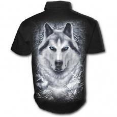 košile s krátkým rukávem s motivem White Wolf