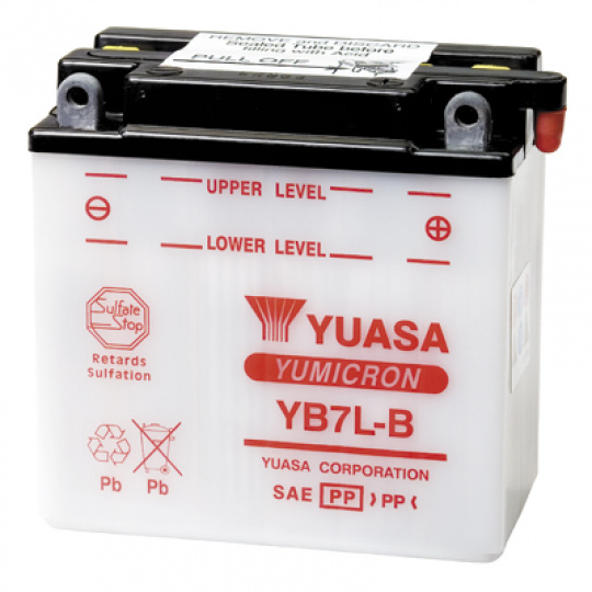 baterie údržbová YB7L-B, 12V, 8Ah